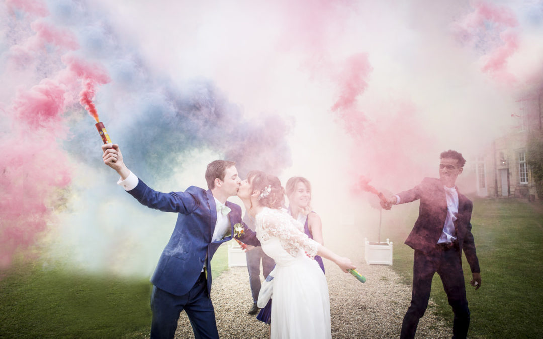 Mariage au chateau de Sauveboeuf