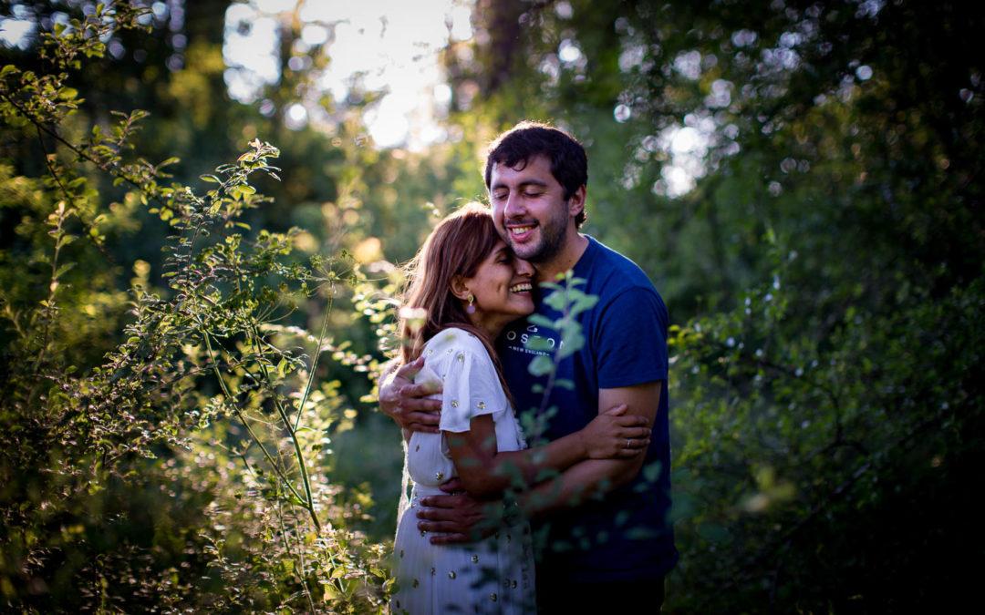 Séance engagement mariage Dordogne